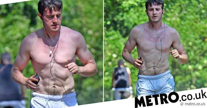 Paul Mescal goes shirtless for run in London sunshine after teasing Normal People series two