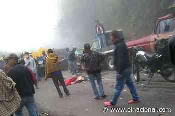 En una cola para gasolina: adolescente murió arrollada por un camión que perdió los frenos en la Colonia Tovar - El Nacional