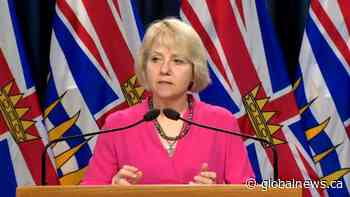 Coronavirus outbreak: Dr. Bonnie Henry amends reopening gathering restrictions to include vehicles