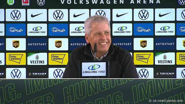 Lucien Favre: We controlled the game from the beginning against Wolfsburg