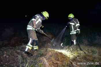 Strohballen in Kernen brennt - Homepage - Zeitungsverlag Waiblingen