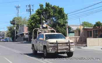Militares y sicarios se enfrentaron en Sonoyta esta mañana - El Sol de Hermosillo