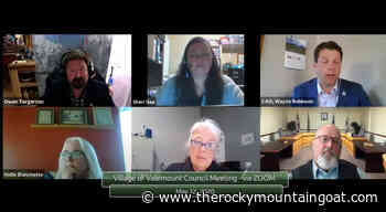 Valemount council: Tax rate, appointments – The Rocky Mountain Goat News - The Rocky Mountain Goat