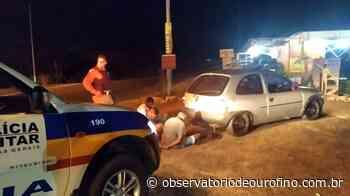 Três pessoas tentam furam bloqueio sanitário em Ouro Fino e acabam presas - Observatório de Ouro Fino