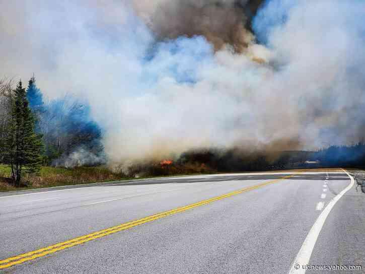 Wildfire Near Halifax Prompts Evacuation Orders