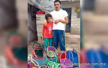 Hace trueque por comida; artesano pide apoyo ante pandemia en Atlixco - El Sol de Puebla