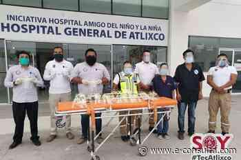 Personal médico de Atlixco recibe caretas protectoras - e-consulta