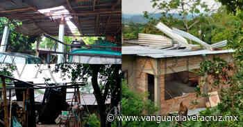 Turbonada destecha casas en Tlapacoyan - Vanguardia de Veracruz