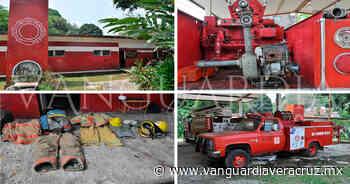 Bomberos de Tlapacoyan con múltiples carencias en equipo - Vanguardia de Veracruz
