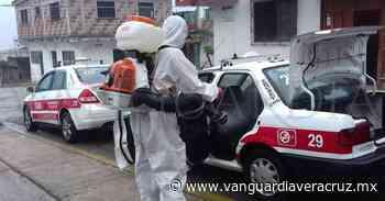 Refuerzan sanitización al transporte público, en Tlapacoyan - Vanguardia de Veracruz