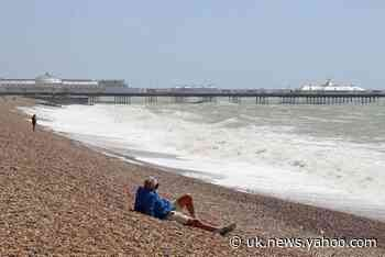 Wet and windy weather keeps beaches clear, but bank holiday weekend warnings remain in place