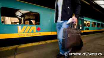 Via Rail increasing service on Toronto-Ottawa-Montreal corridor in June - CTV News Ottawa