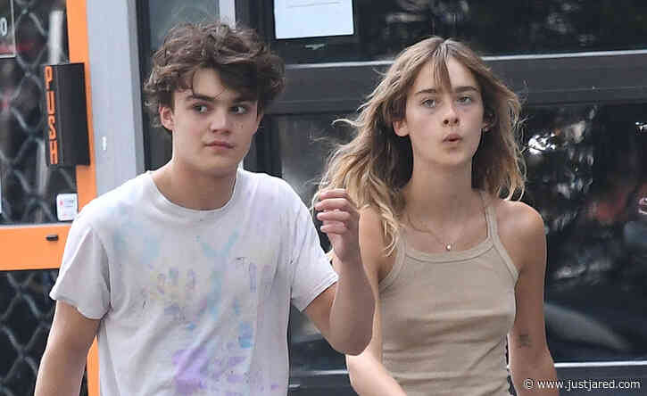 Johnny Depp's Rarely Seen Son Jack Depp Steps Out in Paris with His Girlfriend!