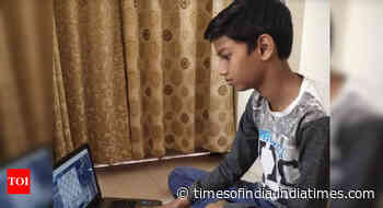 Unseed Spandan seals first Nagpur district online blitz chess title - Times of India