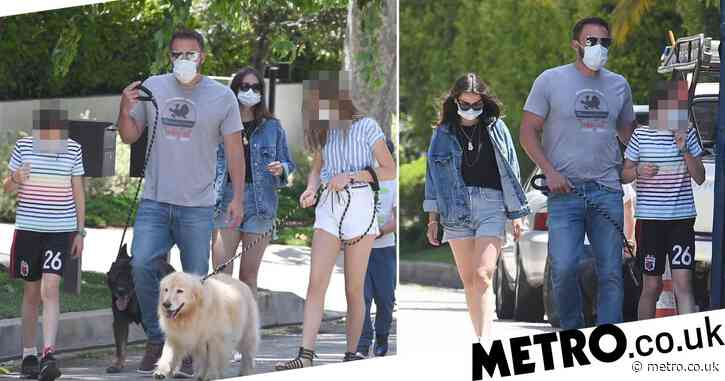 Ben Affleck introduces Ana de Armas to his kids as they take romance to next level