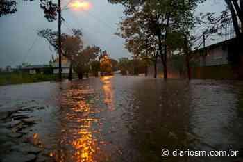 VÍDEO: chuva ultrapassa média do mês de maio em Santa Maria - Diário de Santa Maria