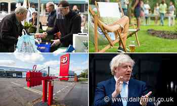 Boris Johnson is set to ease restrictions for outdoor activities