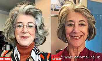 Would YOU let a friend trim your lockdown locks? MAUREEN LIPMAN had her hair cut by her trusty PA...