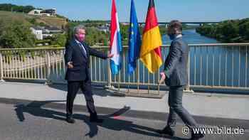 Peinliche Grenzpanne: Polizei lässt Luxemburger nicht nach Perl - BILD