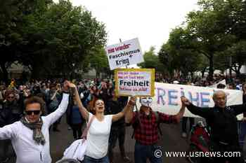 Police Arrest 60 at Anti-Lockdown Demonstrations in Berlin: Report - U.S. News & World Report
