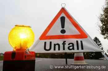 Unfall bei Ohmden - Fahrradfahrer erleidet schwere Kopfverletzungen - Stuttgarter Zeitung