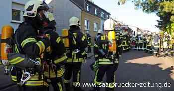 Feuerwehreinsatz in Saarwellingen: Feuer in Keller mit Munition - Saarbrücker Zeitung