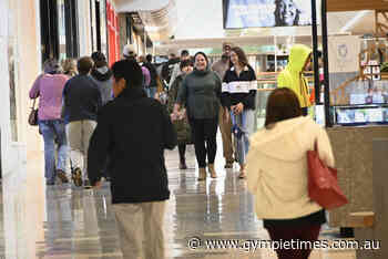 Long lines as shoppers pack Grand Central for weekend - Gympie Times