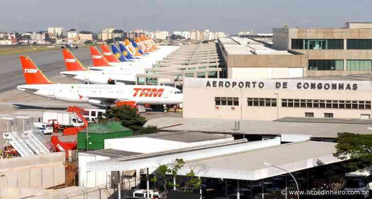 Aeroporto de Congonhas retoma hoje voos comerciais - ISTOÉ DINHEIRO - Istoé Dinheiro