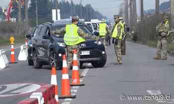Dos mil vehículos han sido devueltos en cordones sanitarios del Gran Concepción - Canal 9 Bío Bío Televisión
