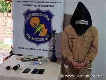 Un hombre detenido con drogas y una granada activa en Concepción - ÚltimaHora.com