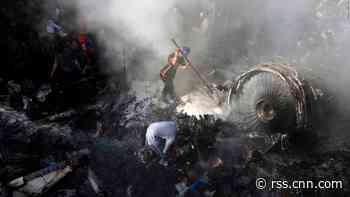 Shocking video shows destruction from crash