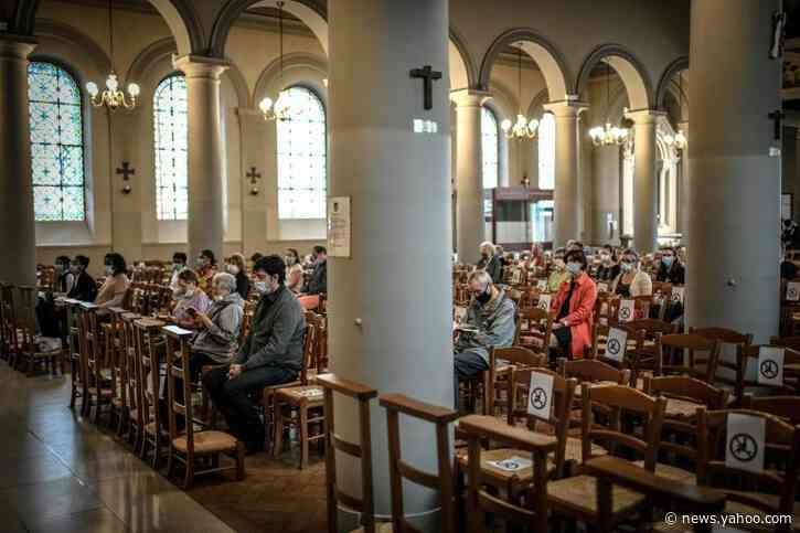French churches reopen as coronavirus restrictions loosened