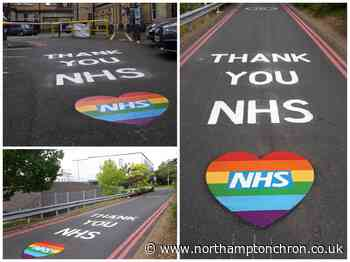 Northampton's NHS heroes get a special 'thank you' every time they go to work - Northampton Chronicle and Echo