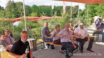 In der Hohenloher Scheune werden wieder Weine ausgeschenkt - Heilbronner Stimme