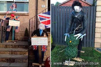 Scots village start lockdown scarecrow challenge to cheer up locals during corona crisis - The Scottish Sun
