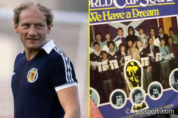 Alan Brazil recalls how he and Scotland teammates got 'absolutely hammered' on Top of the Pops ahead of 1982 W - talkSPORT.com
