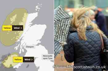 Scotland weather forecast: Scots to be battered by brutal 75mph winds this weekend with travel chaos expected - The Scottish Sun