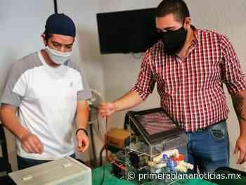 Egresados del Tecnológico de Uruapan presentan prototipo de respirador artificial para COVID-19 - Primera Plana Noticias
