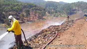 A 80%, controlado incendio en basurero de Uruapan: PC Michoacán - Quadratín - Quadratín Michoacán