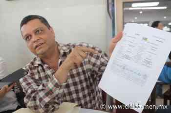 Alcalde electo de Cosamaloapan denuncia irregularidades en contrato de luminarias por parte de la actual admin - El Dictamen