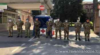 Lugo. Dopo due mesi di servizio termina il presidio all'ospedale Umberto I da parte dei militari della CRI - ravennanotizie.it