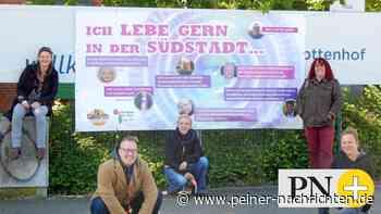 """Plakate in Peine: """"Ich lebe gern in der Südstadt"""" - Peiner Nachrichten"""