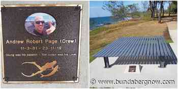 Bench constructed in memory of local spearfisherman – Bundaberg Now - Bundaberg Now