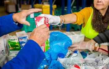 El Banco de Alimentos solicita la donación de los productos que más escasean como legumbres, aceite, verduras, latas de conserva, leche y galletas - Lanza Digital - Lanza Digital