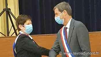 À Lesquin, un Jean-Marc Ambroziewicz masqué a de nouveau revêtu l'écharpe tricolore - La Voix du Nord