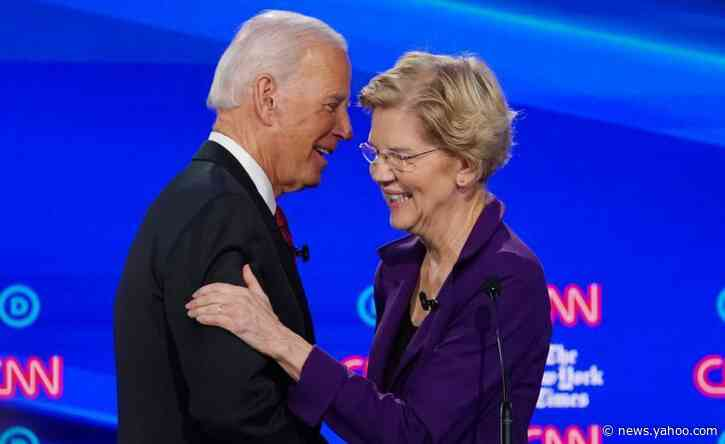 Elizabeth Warren to host private fundraiser for Biden: NY Times