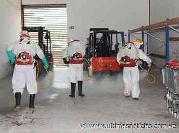 Realizan jornada de desinfección en la sede de Pdval en Barinas - Últimas Noticias