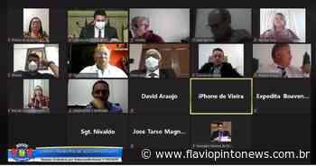 Câmara de Juazeiro do Norte debate sobre pandemia de Covid-19 e isolamento social - Flavio Pinto