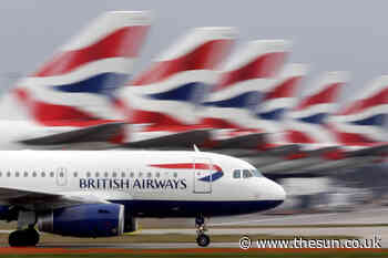 British Airways website glitch – passengers can't check in online and bookings vanish - The Sun
