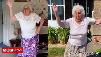 Dancing gran, 88, goes viral on TikTok